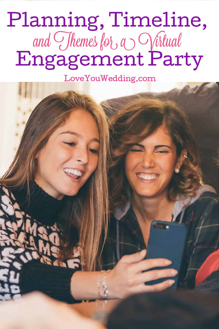 Wondering how to host a virtual engagement party? We've covered everything from your planning timeline to the best themes! Check it out!