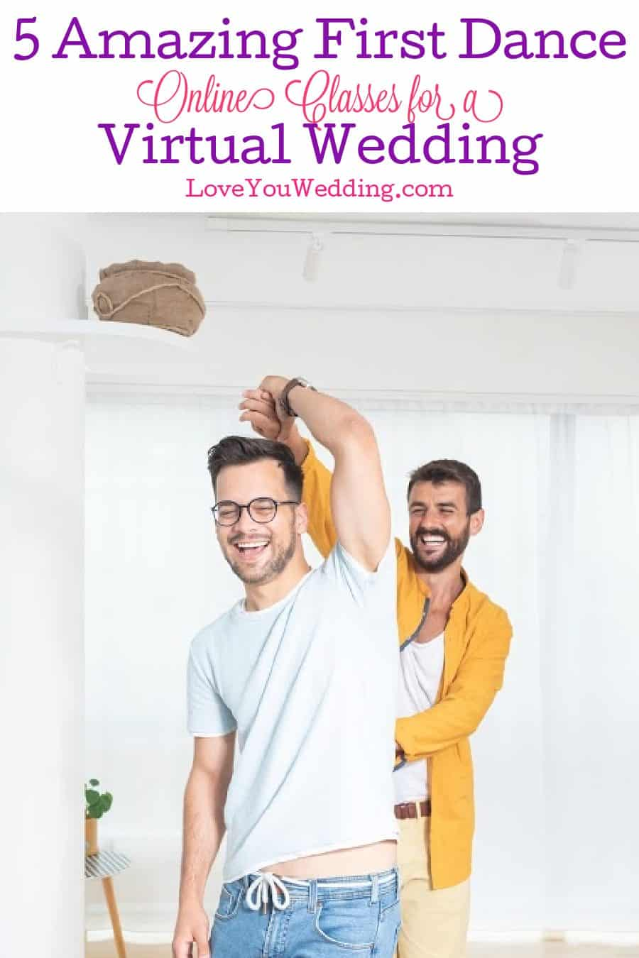 Are first dance online classes for a virtual wedding worth your time? What are your options when it comes to them? Find out both answers!