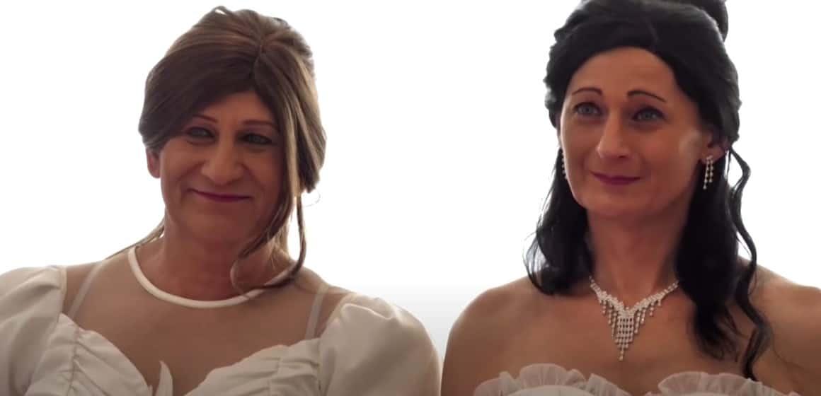 Tamara Csillag and Elvira Angyal, Hungary's lesbian transgender couple