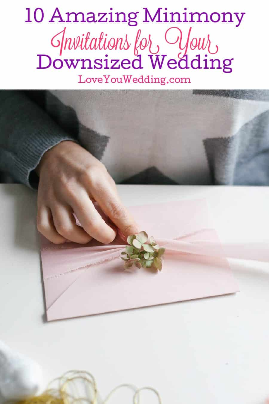 Looking for gorgeous minimony invitations for your micro-wedding? Check out 10 amazing ideas that we're totally in love with!