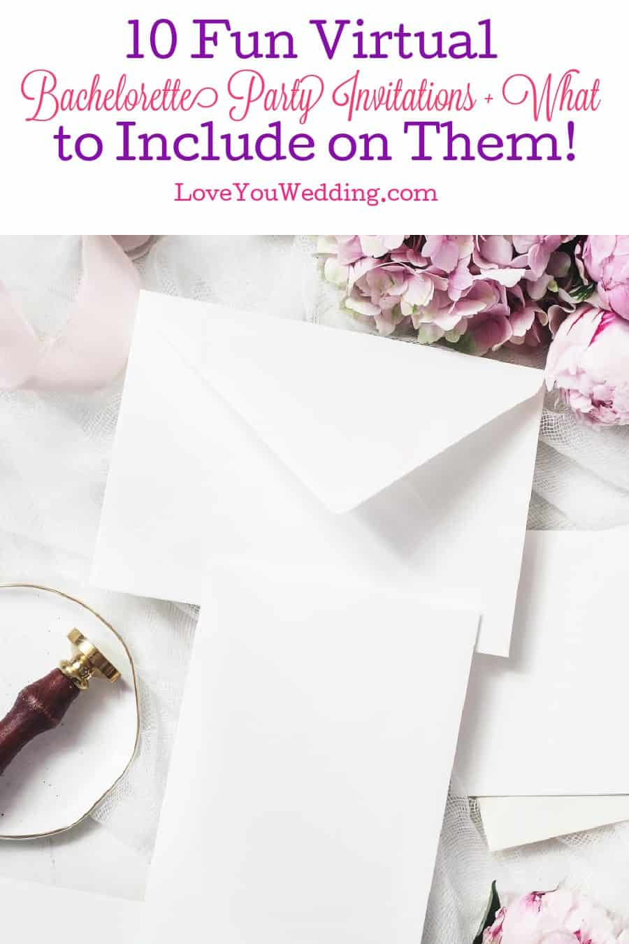 Looking for some amazing ideas for virtual bachelorette party invitations and what to include on them? Check out our guide & recommendations!