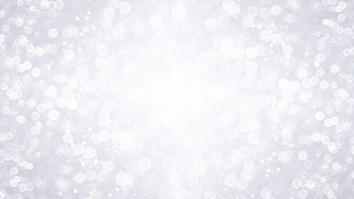 Fancy silver and white glitter sparkle confetti background for happy birthday party invite, Christmas flyer, frosty icy winter snow, frozen snowflake border, 25 anniversary or glitzy wedding desig