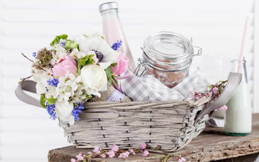 10 Outstanding Gift Baskets to Send Your Virtual Wedding Guests