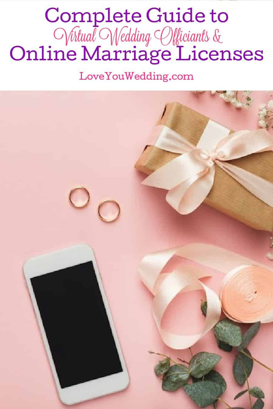 Tying the knot online? You definitely need our guide to online marriage licenses and virtual wedding officiants! Check it out!