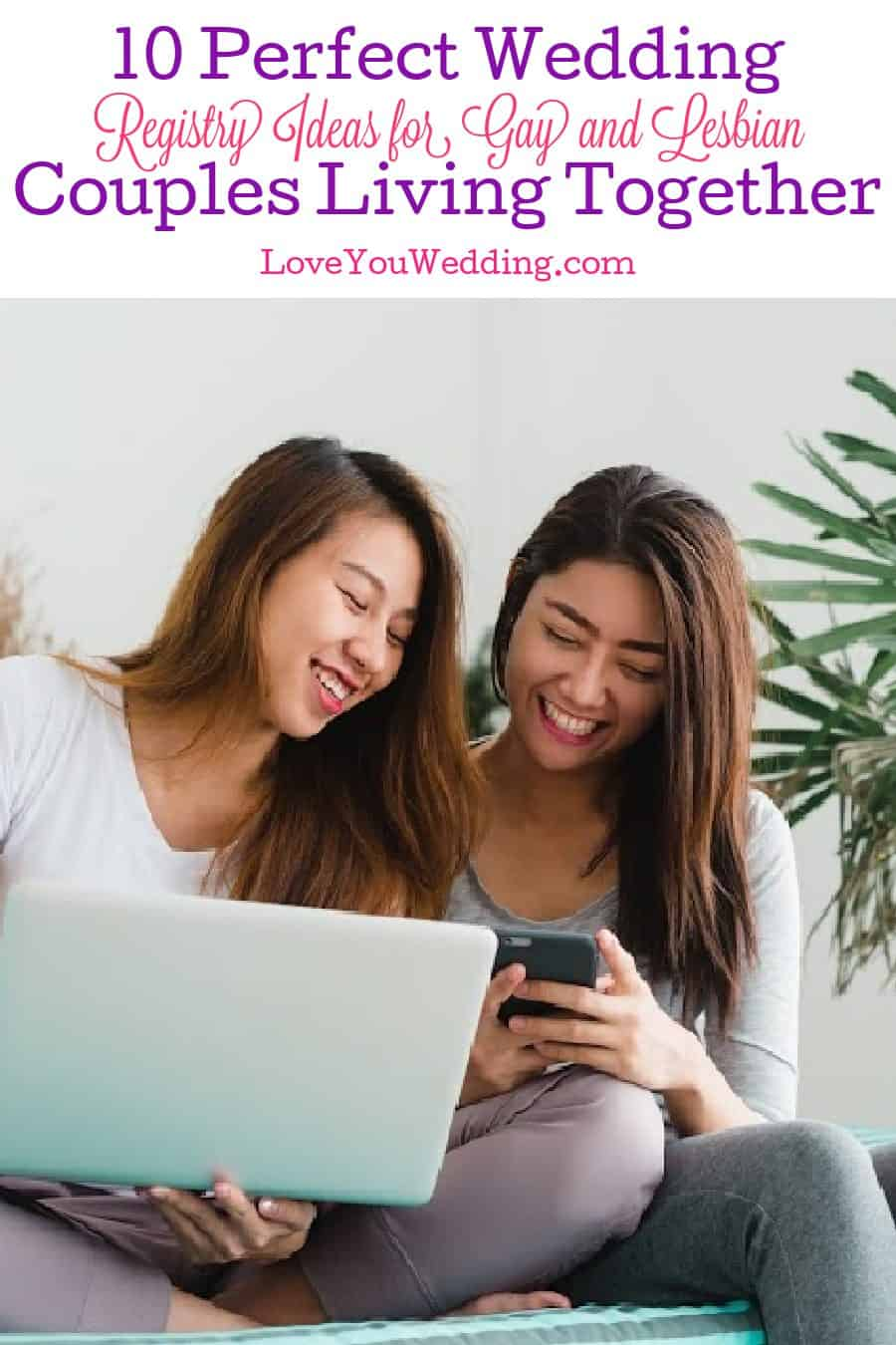 Looking for some wedding registry ideas for gay and lesbian couples living together? Add one or more of these 10 gifts to your wish list!