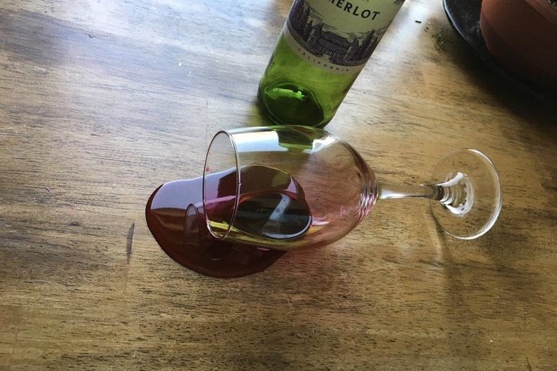 fake wine spill prank gifts for a gay or lesbian wedding