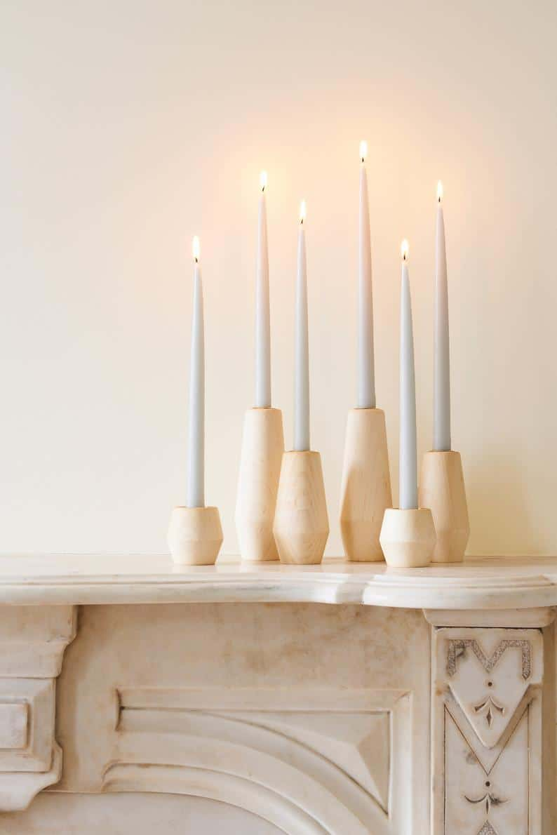 beautiful candle sticks make great wedding registry ideas