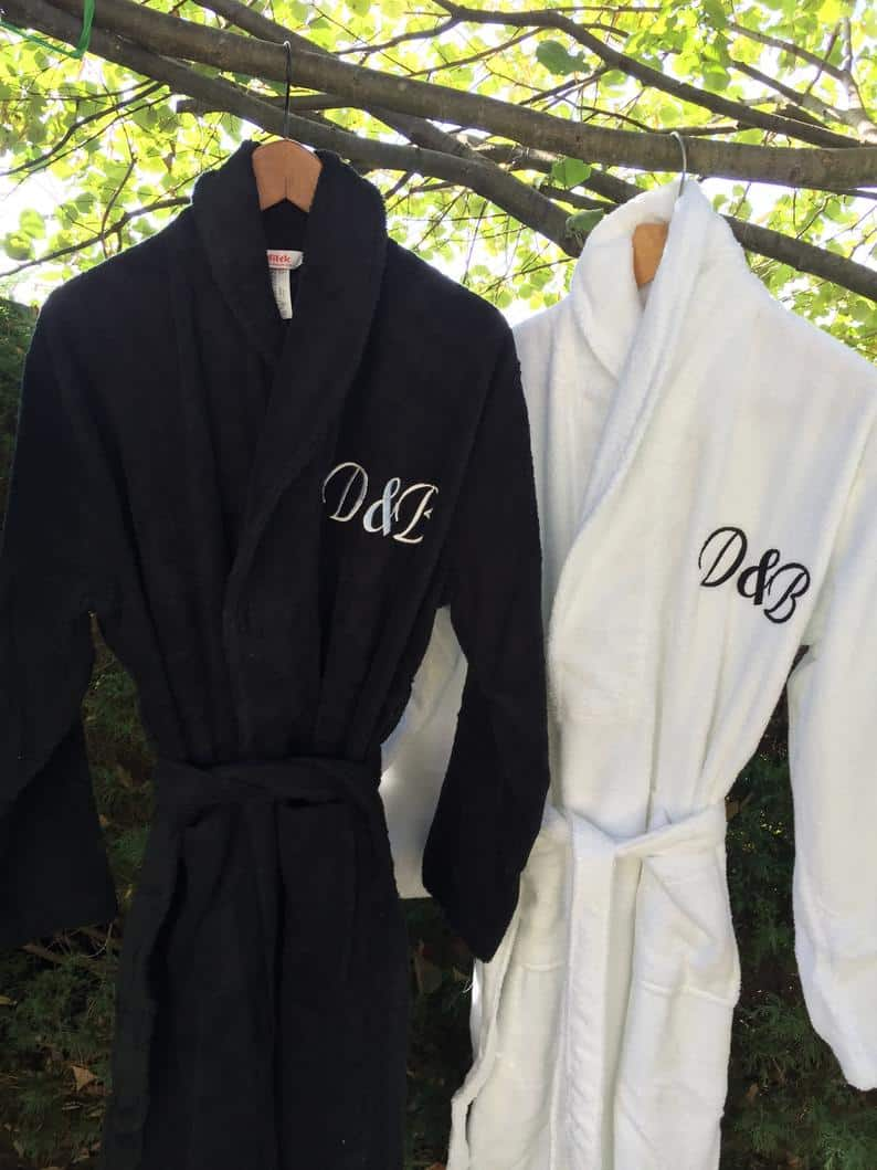 personalized bathrobes