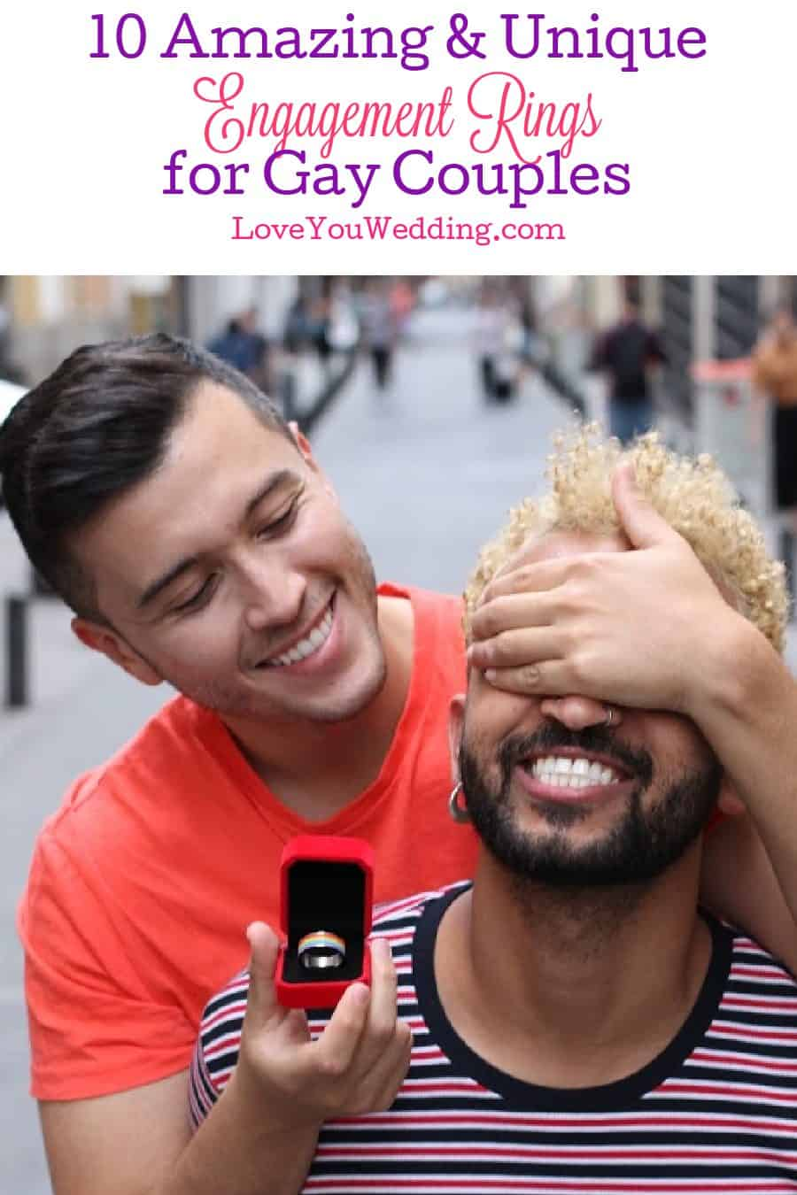 Finding the best engagement rings for gay guys isn't hard if you know where to look! We did the work for you, though! Check out 10 we adore!