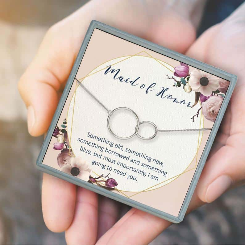 Maid of Honor Bracelet Proposal Gift