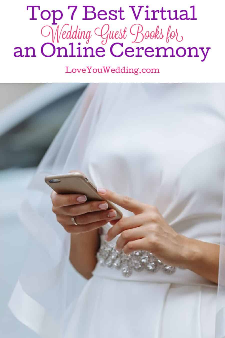 Looking for the best virtual wedding guest books? We've got you covered! Check out the top 7 options with the most diverse features!