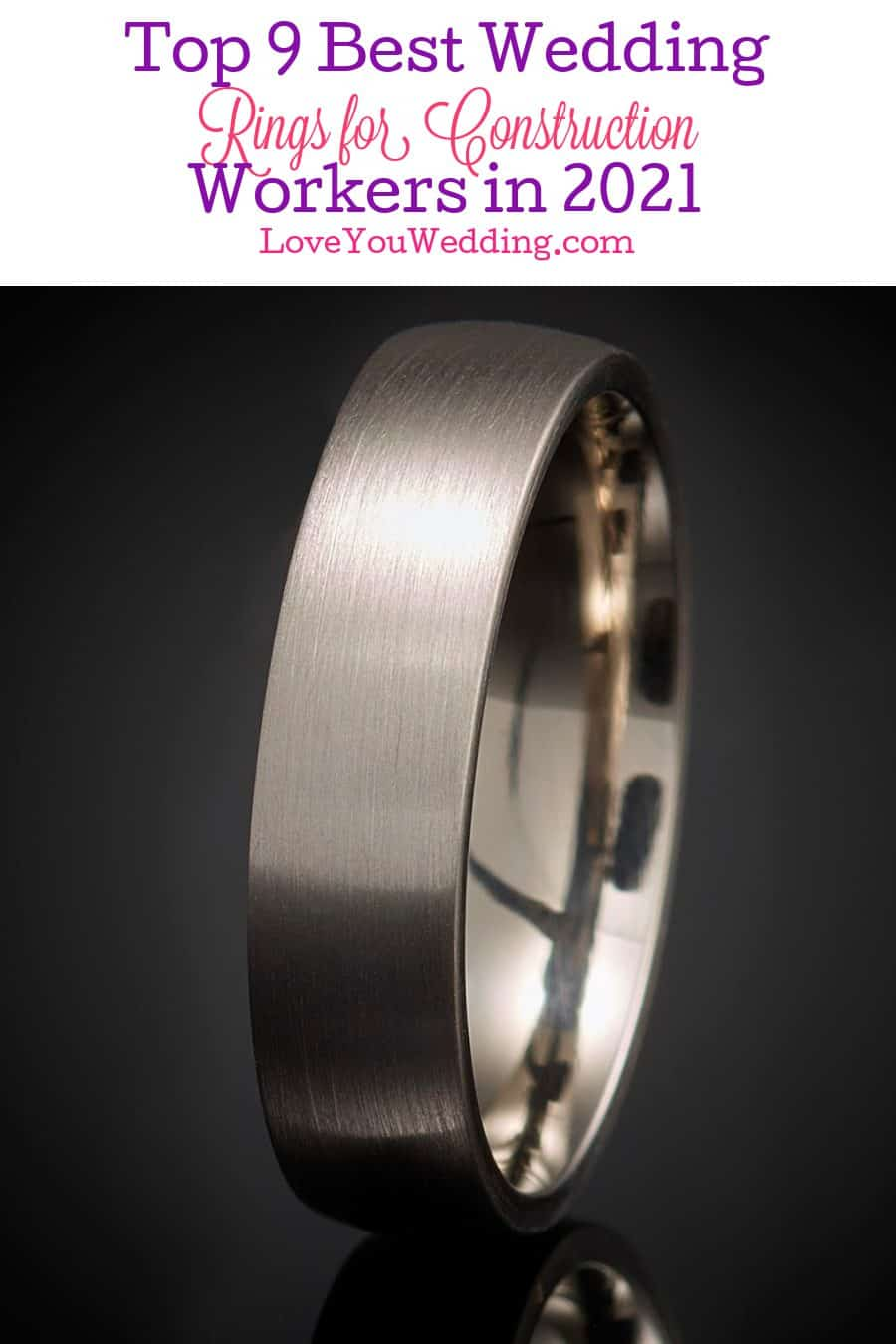 Looking for the wedding rings for construction workers? How about for mechanics or welders? We've got you covered! Check out our top picks!