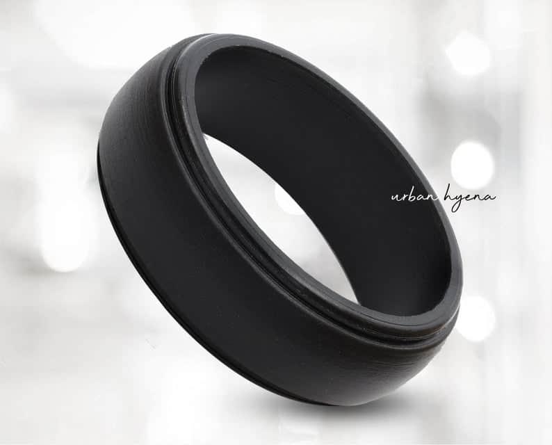 Non-conductive Men's Wedding Rings: Best Wedding Rings for Welders