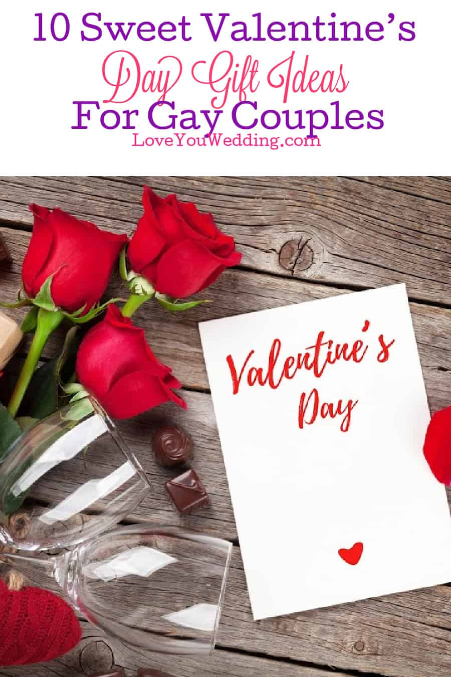 Looking for some sweet Valentine's Day Gifts for gay couples? We found 10 amazing ideas that your honey will love! Check them out!