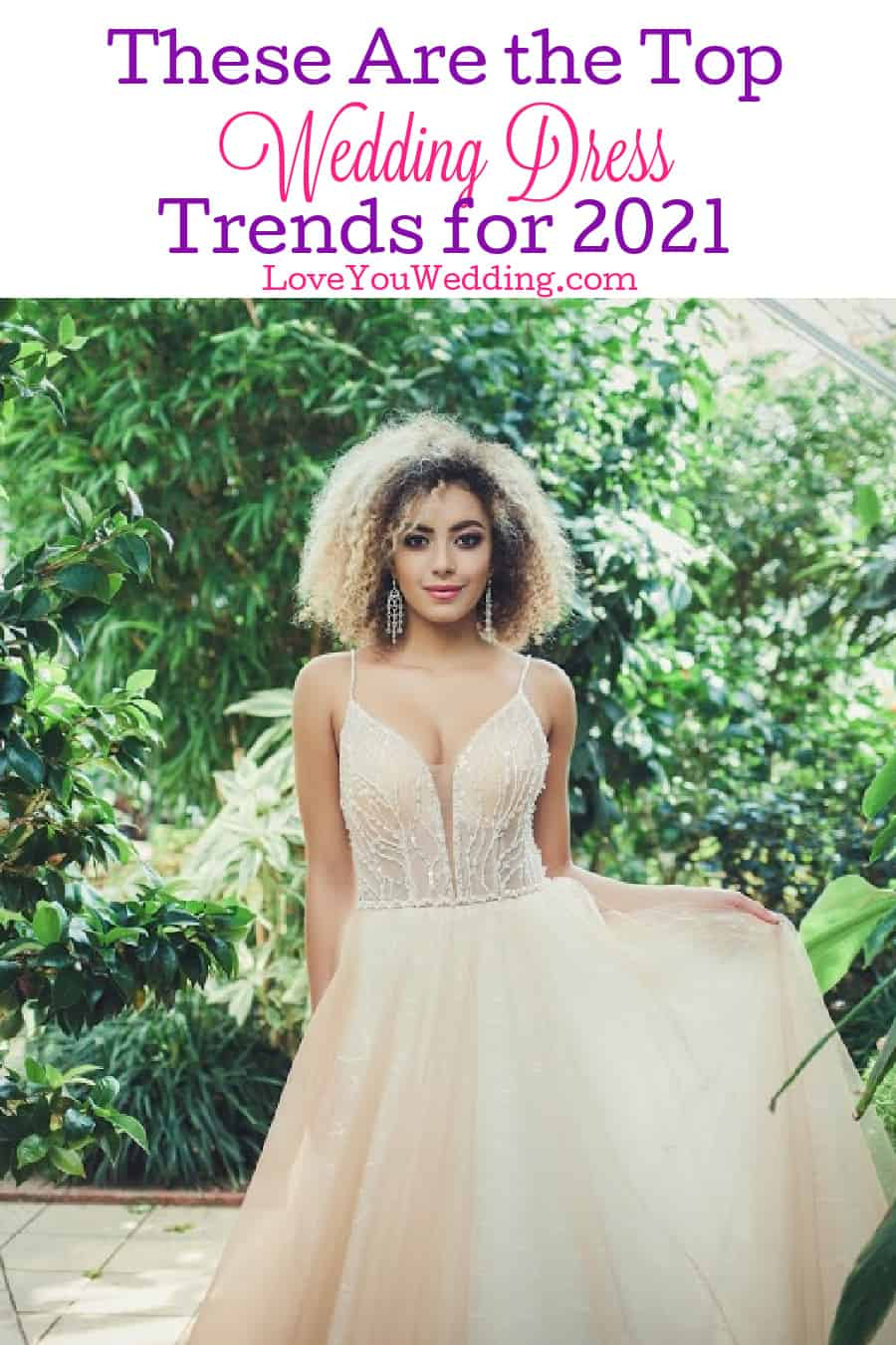 Curious about the top 2021 wedding dress trends? From vintage ruffles to simple yet elegant, these are the gowns every bride wants this year!