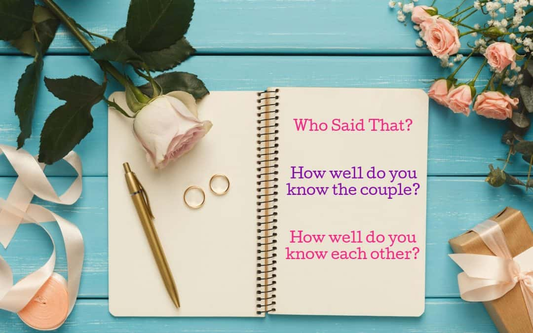 105  Fun Bridal Shower Game Questions That Will Keep Them Guessing All Night Long