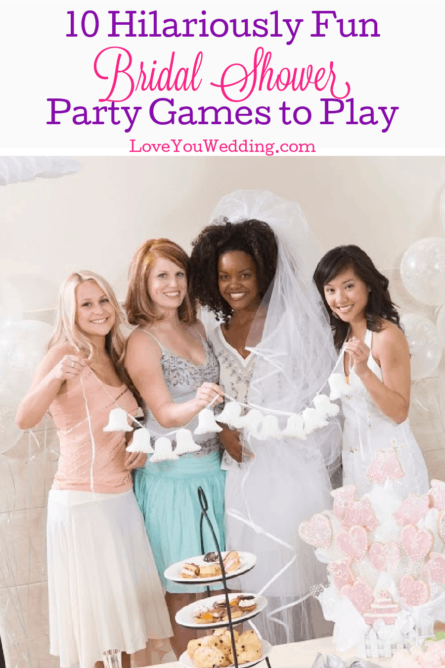 These hilarious bridal shower games will have your guests cracking up and ROFL! Most of them use items you have on hand, too! Check them out!