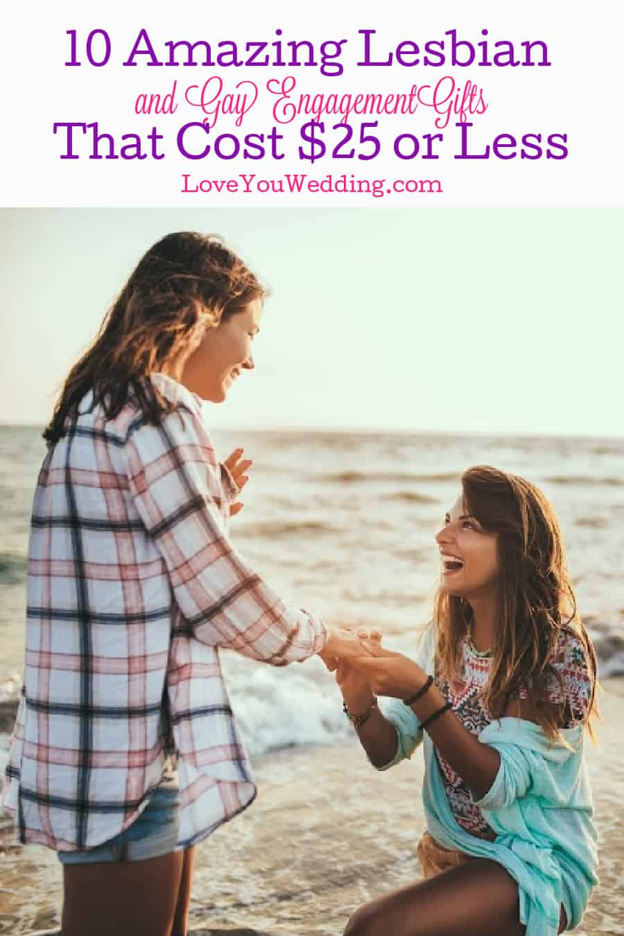 Looking for lesbian and gay engagement gifts under ? We reviewed 10 items that are affordable yet look classy too! Check them out!
