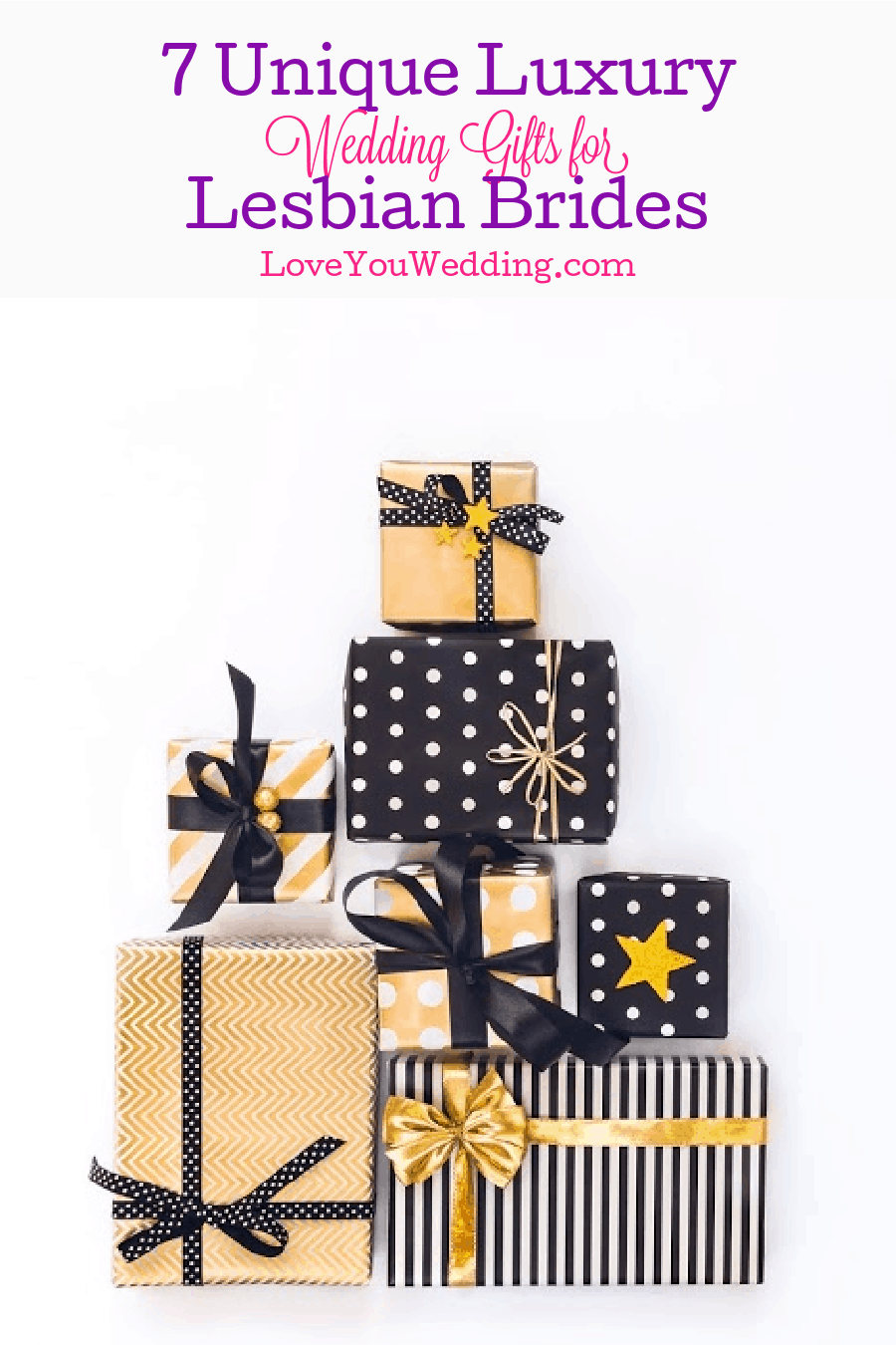 Hunting for some unique luxury wedding gifts for lesbian bride? Check out these 7 incredible ideas that she'll absolutely go gaga over!