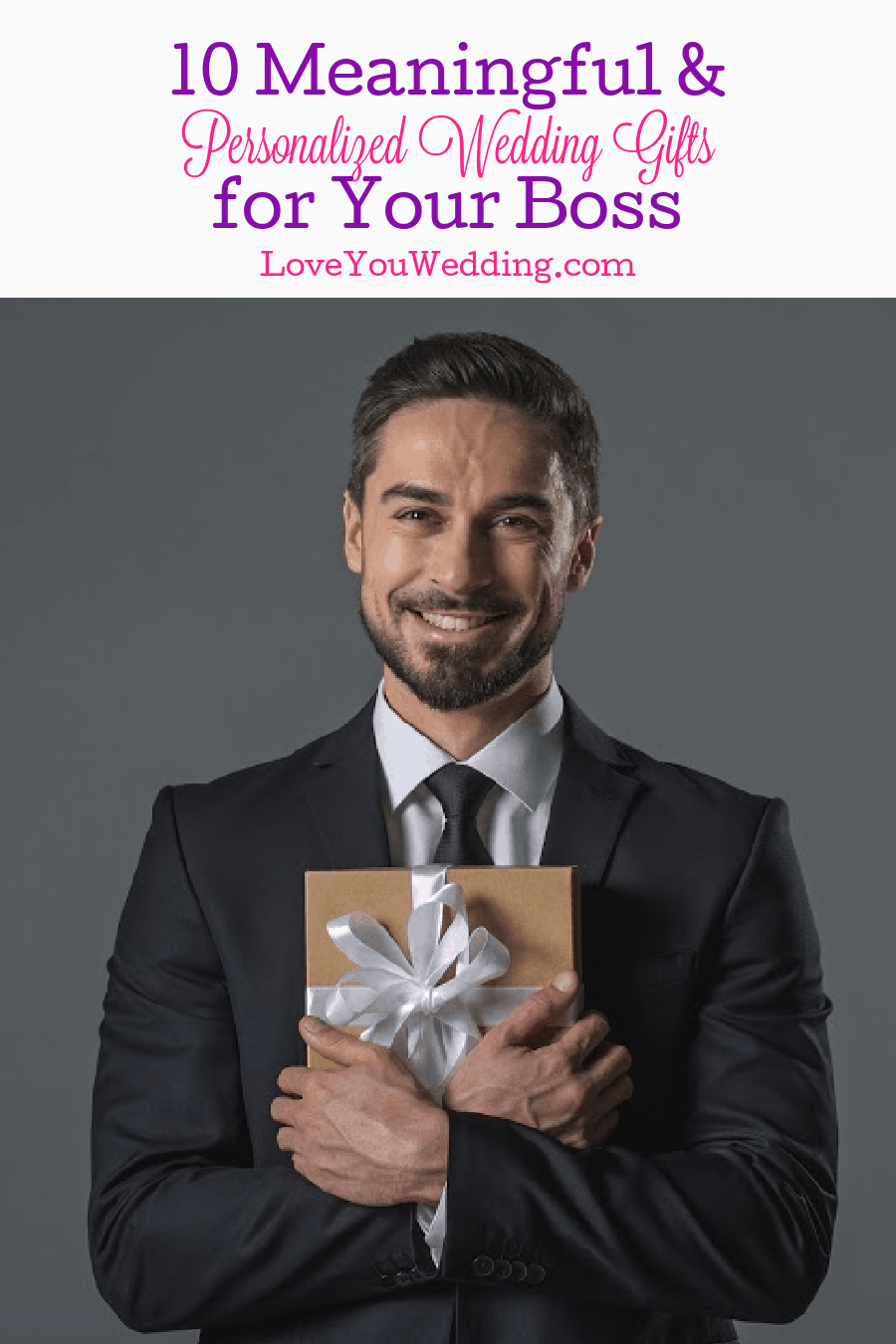 Searching for wedding gifts for boss? You came to the right place! We gathered 10 personalized ideas that they will surely love! Read on!