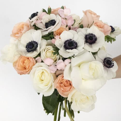 SWEET PEACH TEA FLOWER BOUQUET