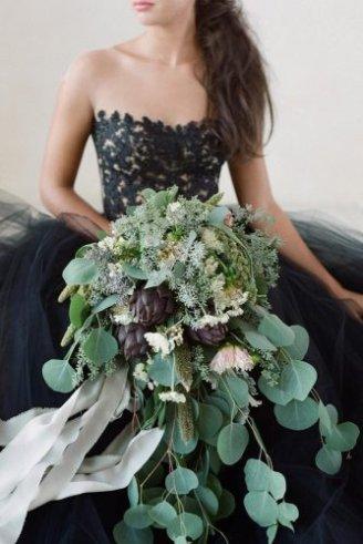 amazing cascade bouquet