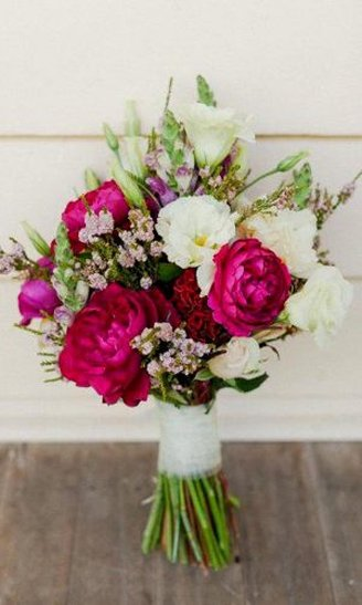 amazing colorful round bouquet