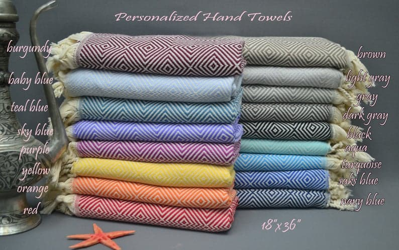 bunch of turkish towels