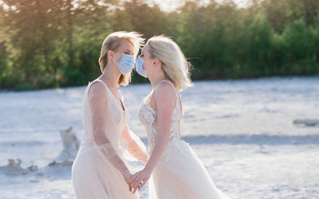 Planning a Same-Sex Wedding? Here's What the New CDC Guidelines Say About Large Gatherings