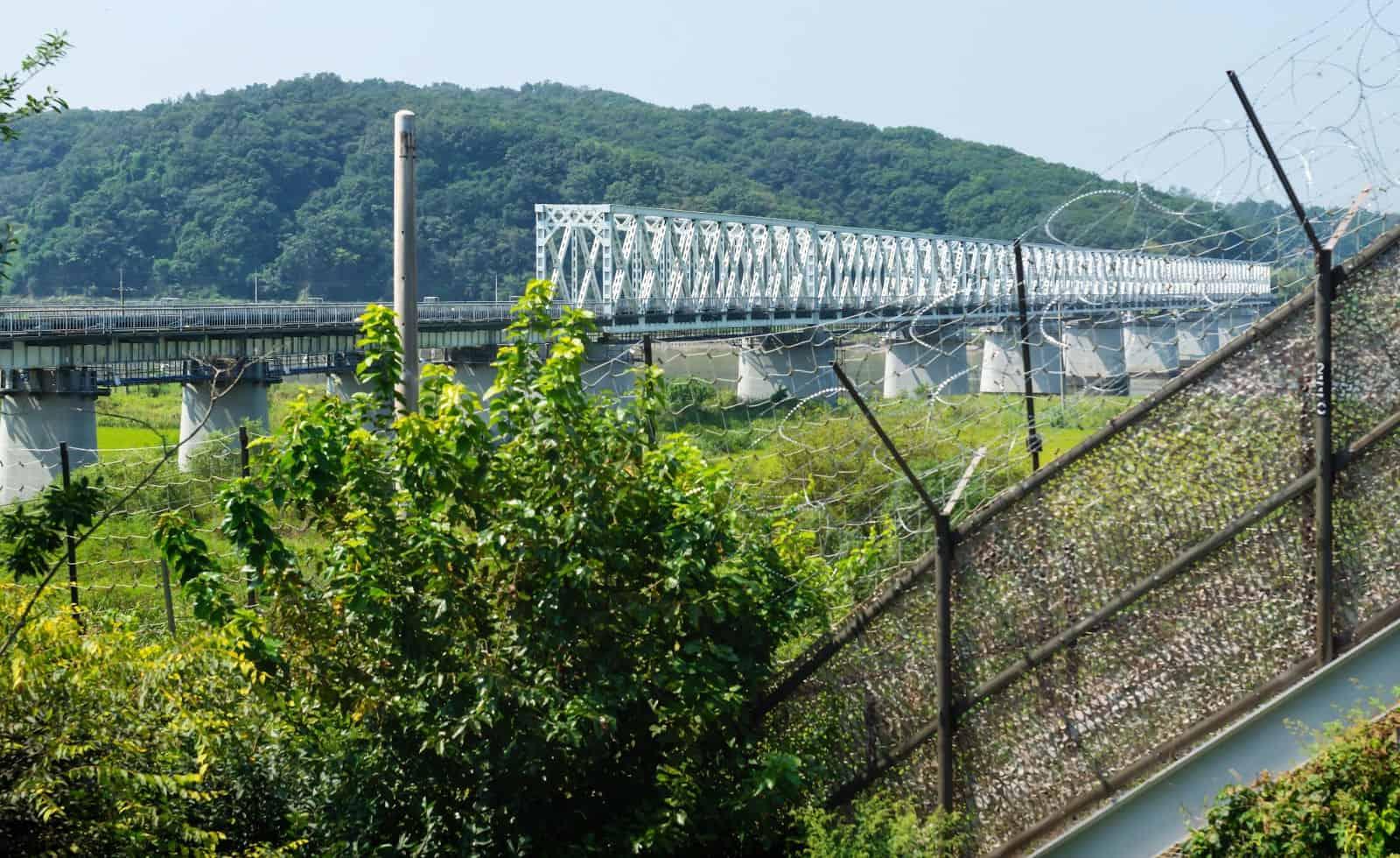 North Korea DMZ border