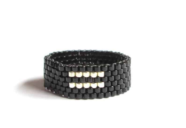 Equality Ring Seed Bead