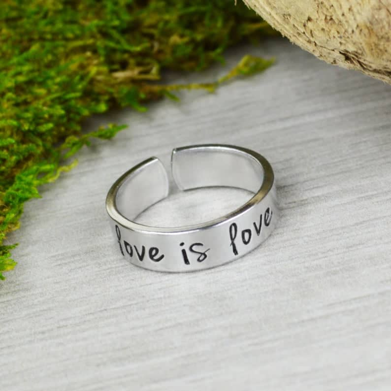 Love is Love Equality Ring | Etsy