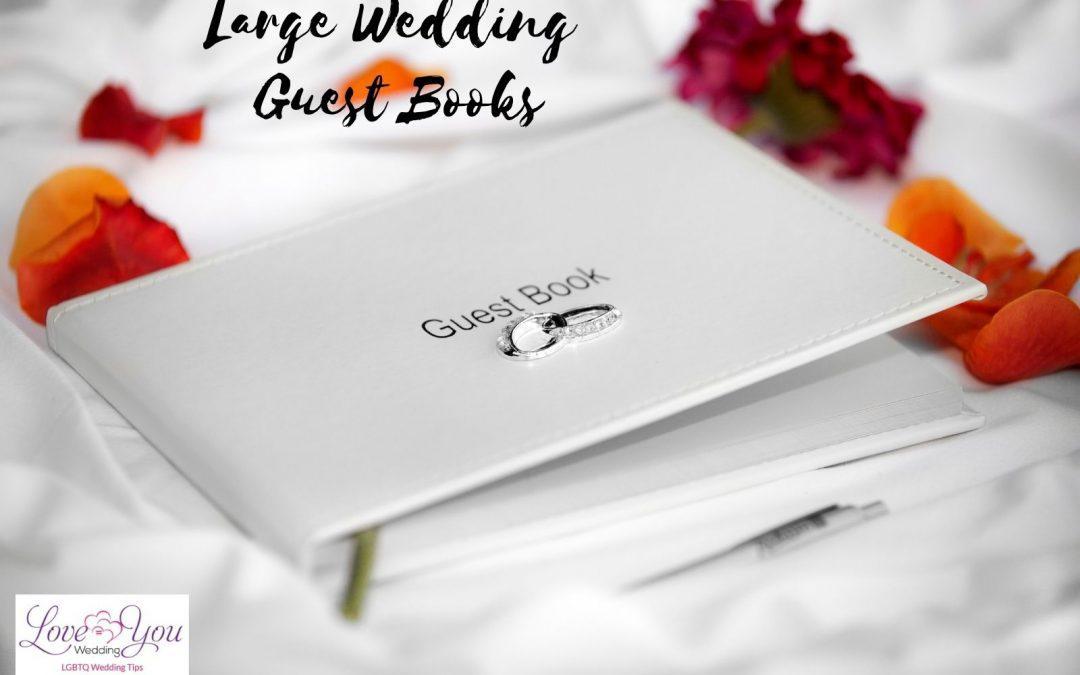 8 Unique Large Wedding Guest Books (2021 Review)