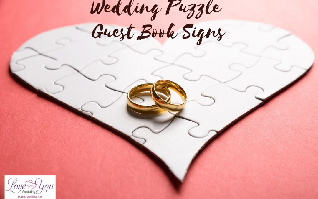 8 Puzzle Guest Book Signsto Make Your Wedding More Memorable (2021)