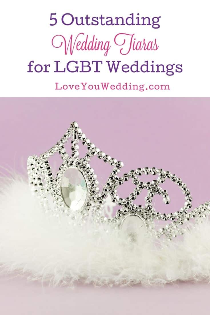 a beautiful silver wedding tiara with a big  diamond in the middle