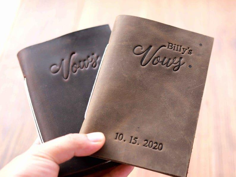 Wedding Vows Journal