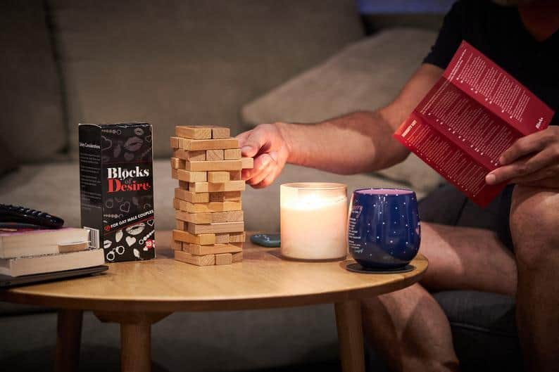 Blocks of Desire: A Romantic Game for Gay Couples (2021 Review)