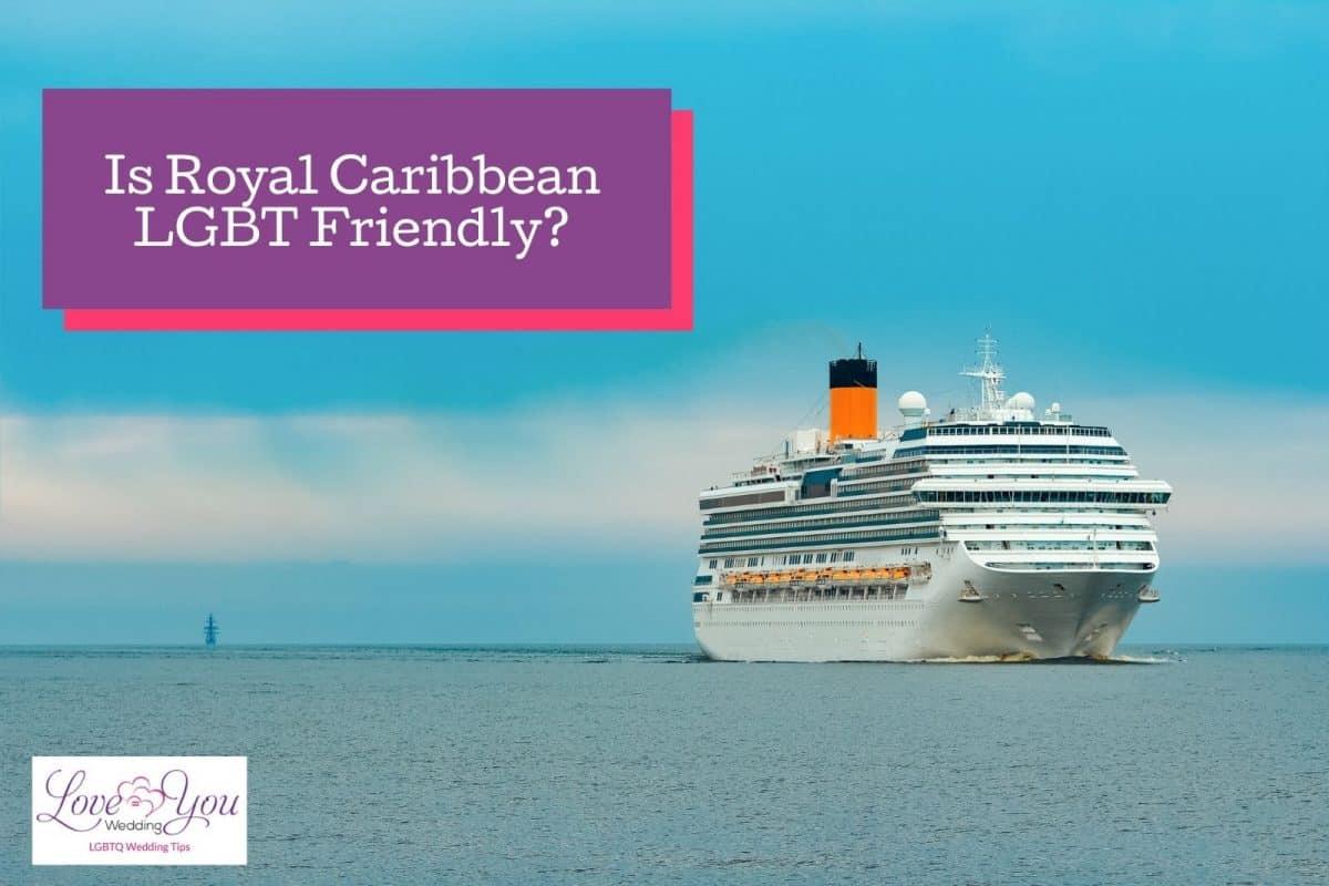 a big gay friendly cruise sailing in the sea