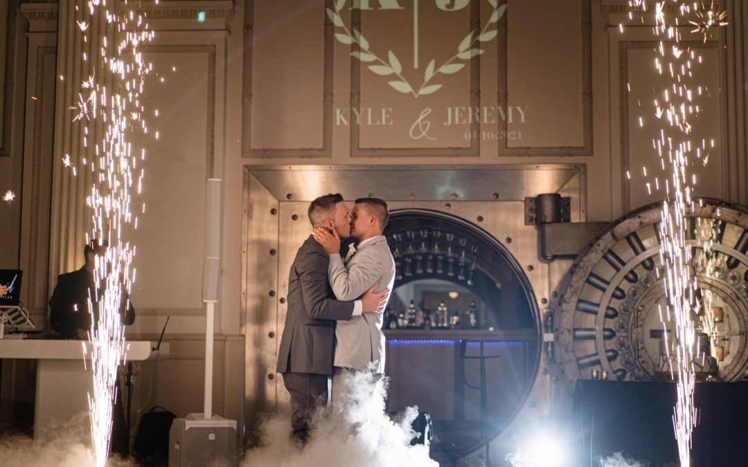 Kyle + Jeremy: A Modern Love Story with a Historical Twist (With Stunning Photos)