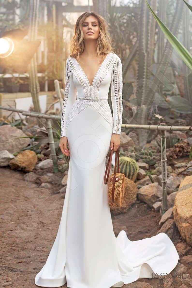 Individual size Trumpet/Mermaid silhouette Kortny wedding | Etsy