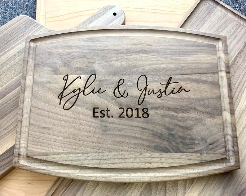 Personalized Cutting Board for Wedding Cutting Board | Etsy