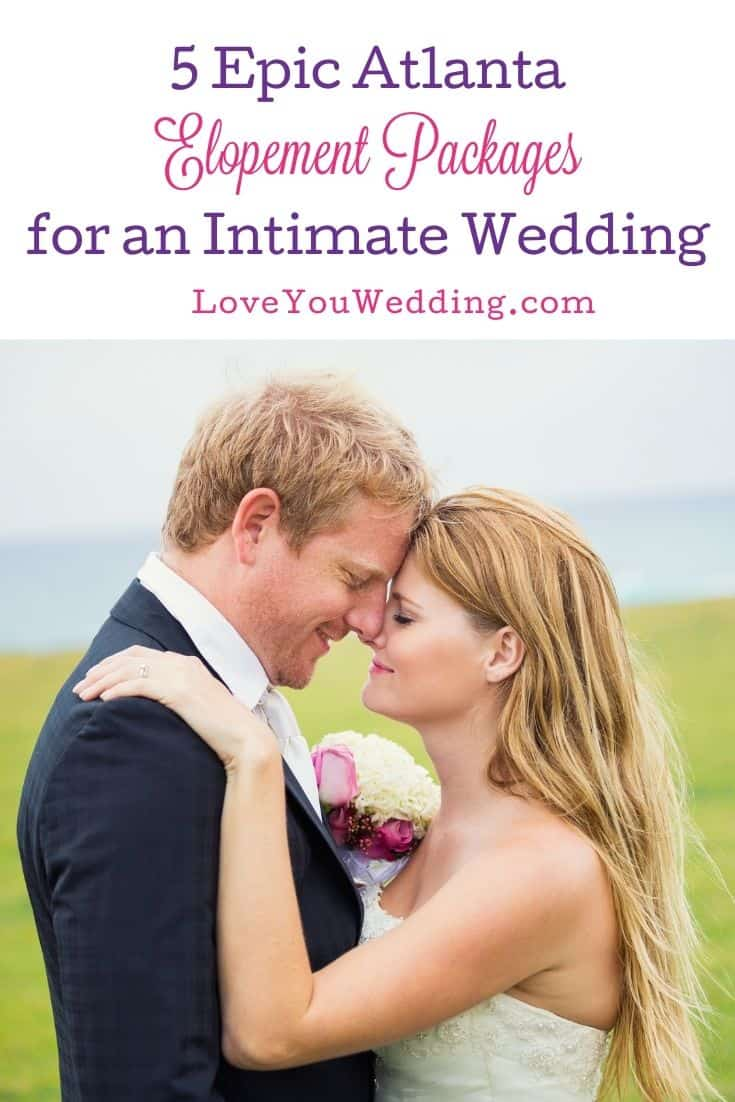 bride and groom intimately facing each other