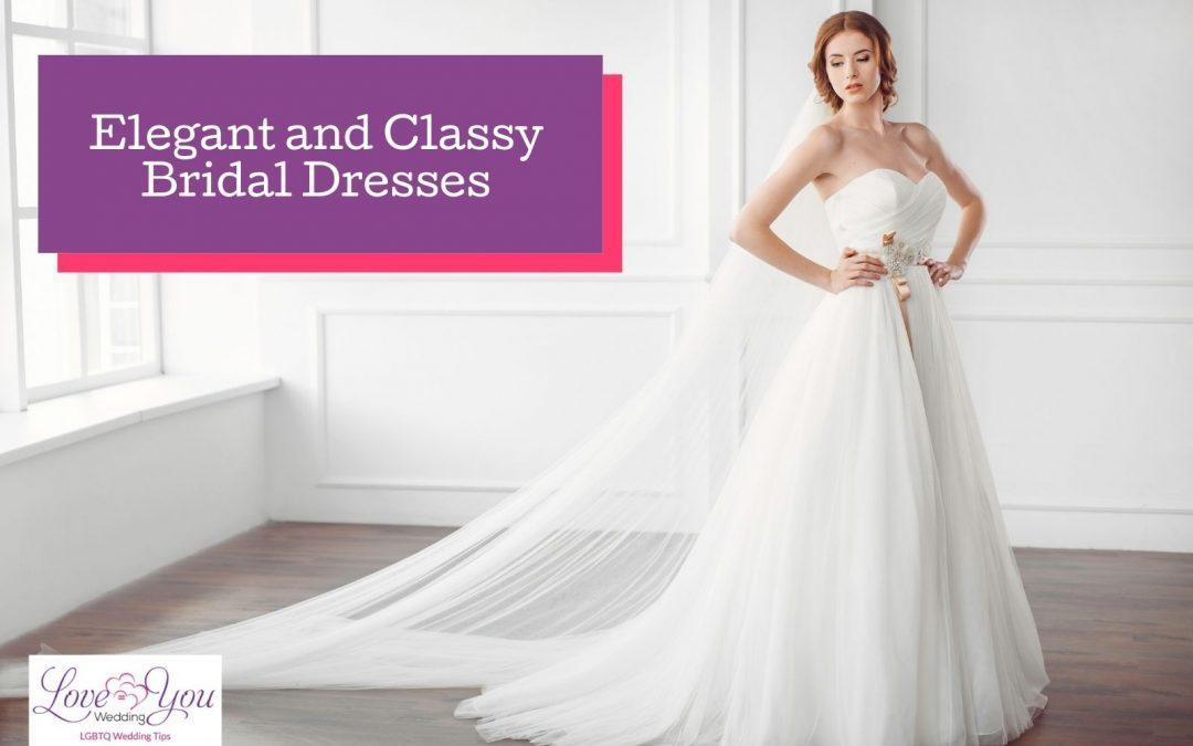 68 Elegant and Classy Bridal Dresses Ideas