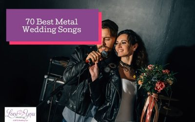 Top 70 Metal Wedding Songs for Your Reception