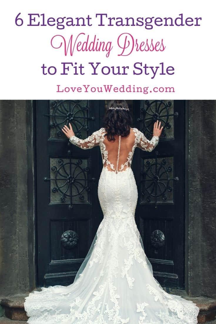 an elegant wedding lace dress worn by the bride