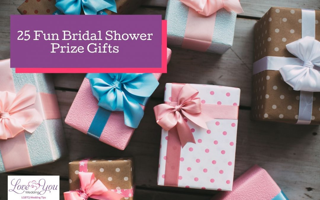 25 Awesome Bridal Shower Game Winner Gifts