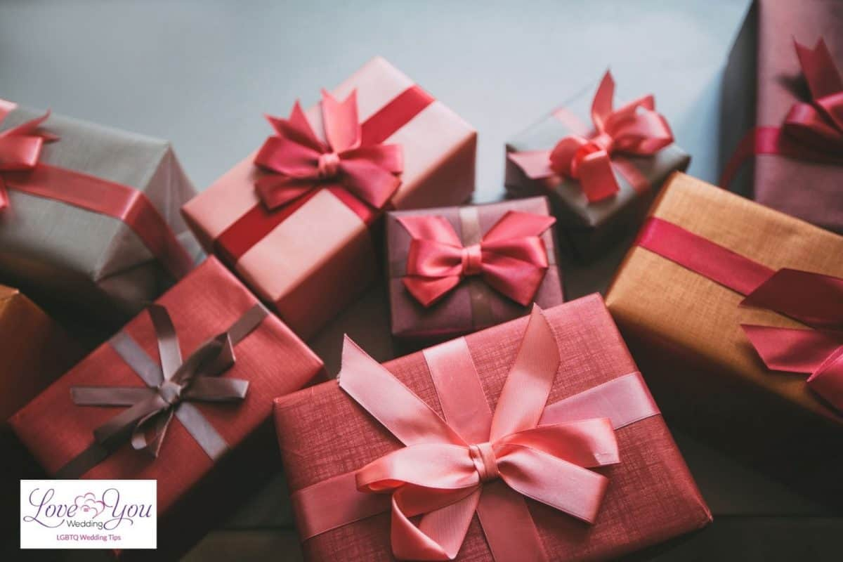 pink and red gifts