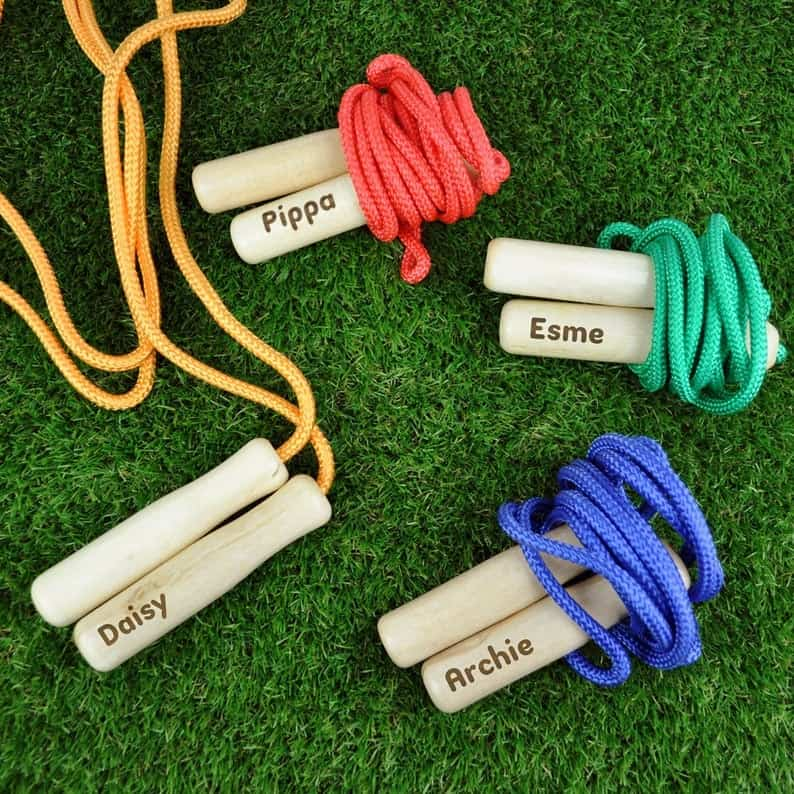 personalized skipping rope