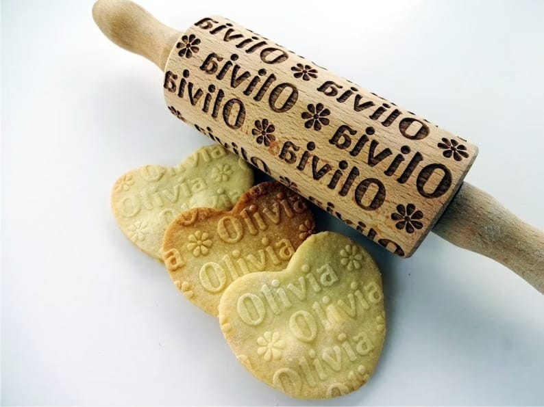 rolling pin with name