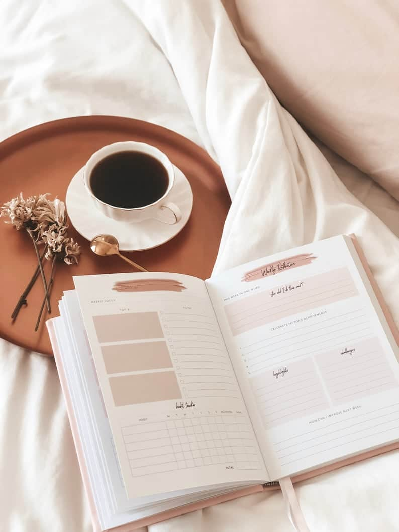 One Day At A Time: Daily Planner   Etsy